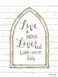 Love is Patient Arch