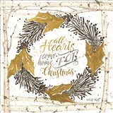 All Hearts Come Home for Christmas Birch Wreath