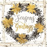 Seasons Greetings Birch Wreath
