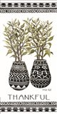 Thankful Mud Cloth Vase