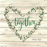 Gather Together Heart Wreath