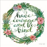 Have Courage Succulent Wreath
