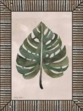Monstera Leaf Galvanized