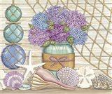Hydrangea & Seashells