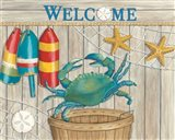 Blue Crab & Basket