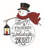 Holidays Bright Snowman