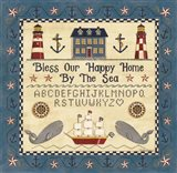 Bless our Happy Home by the Sea Sampler