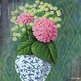 Hydrangea in a Chinese Vase