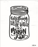 Everything Tastes Better in a Mason Jar