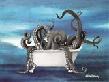 Underwater Octopus Bath I