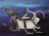 Underwater Octopus Bath II