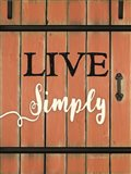 Live Simply Barn Door
