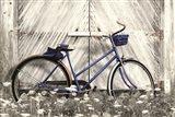 Blue Bike at Barn