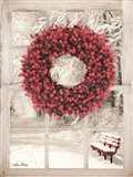 Beaded Wreath View I
