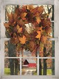 Fall Window View II