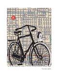 Bicycle on Hawthorne Portland