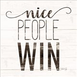 Nice People Win