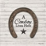 A Cowboy Lives Here