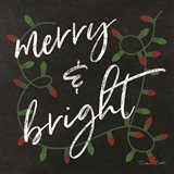 Merry & Bright Chalkboard