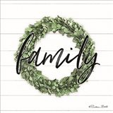 Family Boxwood Wreath