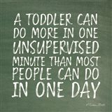 One Unsupervised Minute