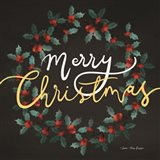 Merry Christmas Wreath