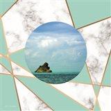 Marble Polygonal Island