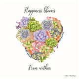 Happiness Blooms Succulents