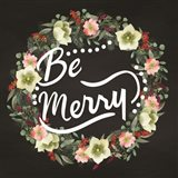 Be Merry Wreath