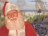 Real Santa at Beach
