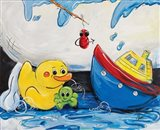 Rubber Ducky and Boat