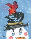 Snowman Friends I