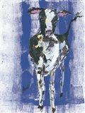 Denim Cow