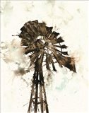 Watercolor Windmill