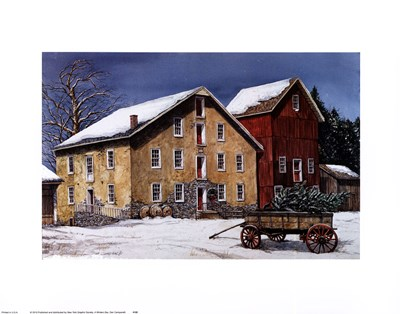 A Winter's Day Poster by Dan Campanelli for $23.75 CAD