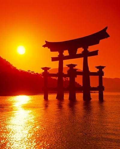O-Torii Gate, Itsukushima Shrine, Miyajima, Japan Poster by Paul Thompson / Danita Delimont for $87.50 CAD