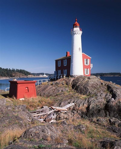 Fisgard Lighthouse, Fort Rodd Poster by Walter Bibikow / Danita Delimont for $91.25 CAD
