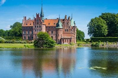 Pond Before The Castle Egeskov, Denmark Poster by Michael Runkel / DanitaDelimont for $68.75 CAD