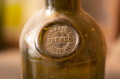 Antique Wine Bottle with Molded Seal Poster by Per Karlsson / Danita Delimont for $78.75 CAD