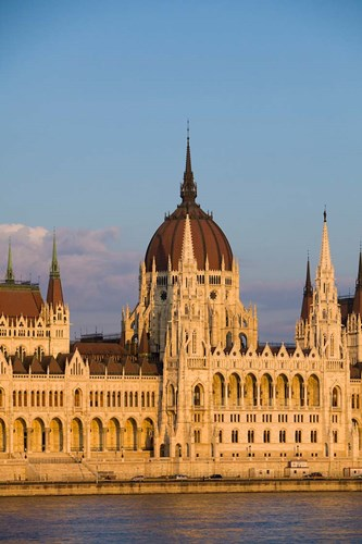 Hungary, Budapest Parliament Building On Danube River Poster by Jaynes Gallery / Danita Delimont for $42.50 CAD