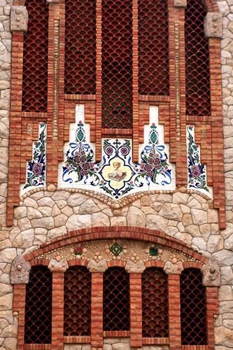 Tiles of Santa Maria Magdalena, Novelda, Spain Poster by Kymri Wilt / Danita Delimont for $91.25 CAD