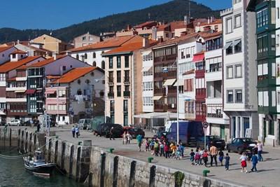 Spain, Basque Country, Vizcaya, Lekeitio Harbor Poster by Walter Bibikow / Danita Delimont for $102.50 CAD