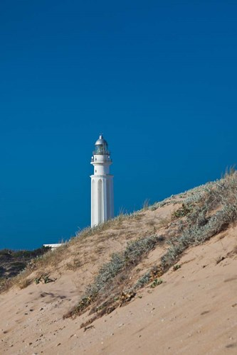 Cabo Trafalgar Lighthouse, Los Canos de Meca, Spain Poster by Walter Bibikow / Danita Delimont for $102.50 CAD