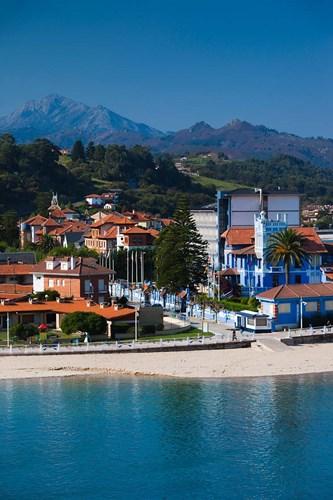 Vacation Homes By Playa de Santa Marina, Ribadesella, Spain Poster by Walter Bibikow / Danita Delimont for $102.50 CAD