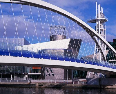 Lowry Centre, Art Gallery, Salford Quays, Manchester, England Poster by Paul Thompson / Danita Delimont for $107.50 CAD