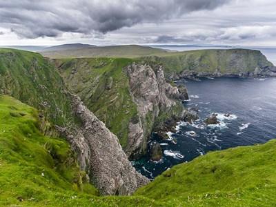 Hermaness National Nature Reserve On Unst Island Shetland Islands Poster by Martin Zwick / Danita Delimont for $77.50 CAD