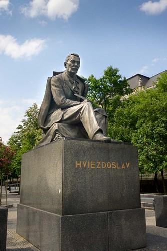 Slovakia, Bratislava, statue of Hviezdoslav Poster by Jim Engelbrecht / Danita Delimont for $41.25 CAD