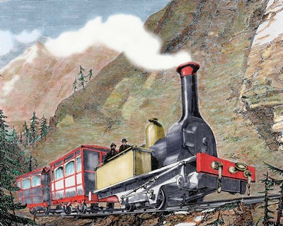 Old Railway 19th-Century Poster by Prism / DanitaDelimont for $46.25 CAD