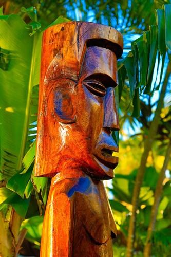 Tiki Carving, Taveuni, Fiji Poster by Douglas Peebles / Danita Delimont for $45.00 CAD