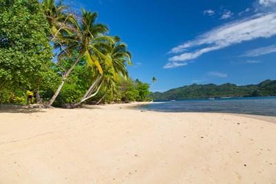 Deserted Beach, Matangi Private Island Resort, Fiji Poster by Douglas Peebles / Danita Delimont for $45.00 CAD